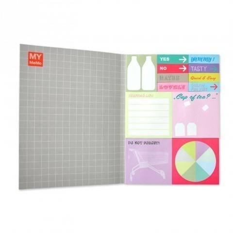 Sticky Notes Buch 3 mit 12 Designs kaufen im Makerist Materialshop