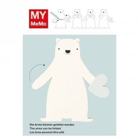 Sticky Notes Eisbär 25 Stück kaufen im Makerist Materialshop