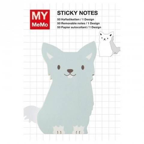 Sticky Notes Hund blau 50 Stück kaufen im Makerist Materialshop