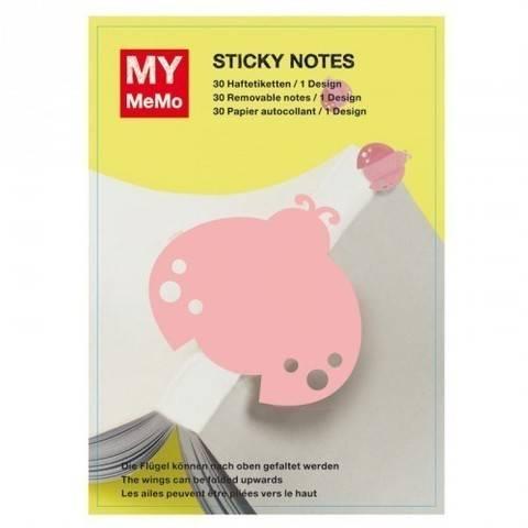 Sticky Notes Marienkäfer 30 Stück kaufen im Makerist Materialshop