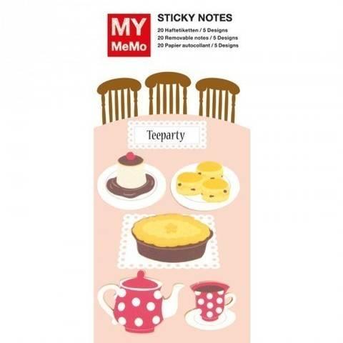 Sticky Notes Teeparty 100 Stück kaufen im Makerist Materialshop