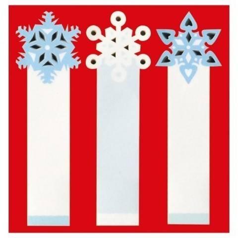 Sticky Notes Schneeflocken 50 Stück kaufen im Makerist Materialshop