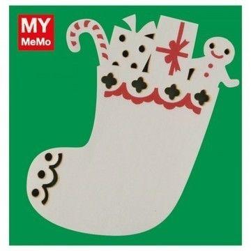 Sticky Notes Weihnachtsstrumpf 50 Stück - Bastelmaterial kaufen im Makerist Materialshop