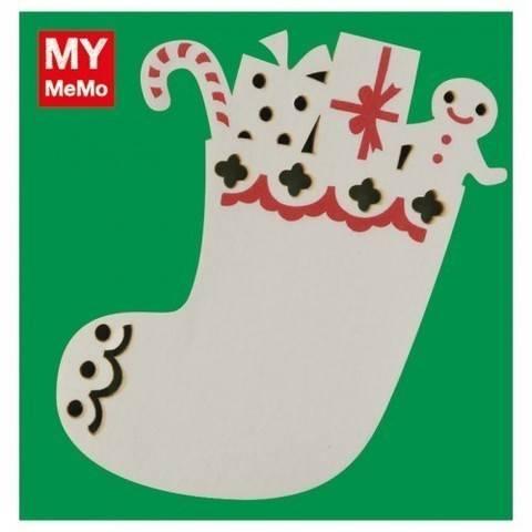 Sticky Notes Weihnachtsstrumpf 50 Stück kaufen im Makerist Materialshop