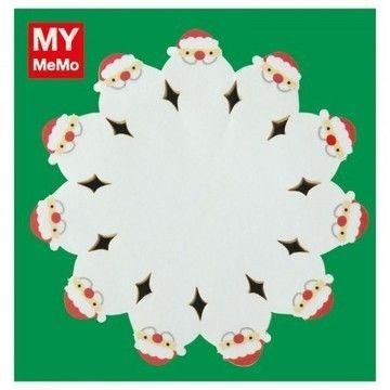 Sticky Notes Weihnachtsmänner 50 Stück - Bastelmaterial kaufen im Makerist Materialshop