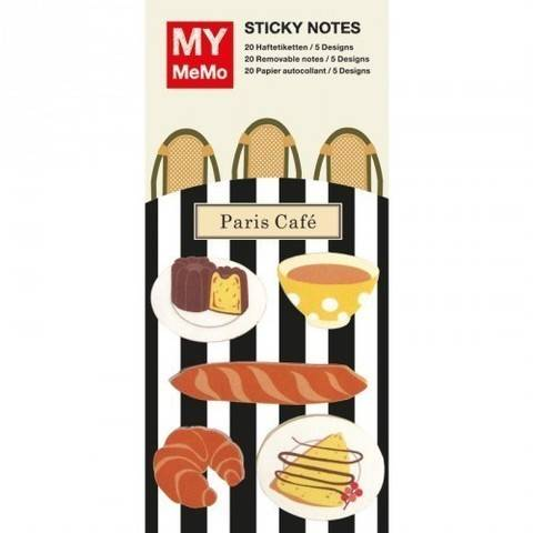 Sticky Notes Französisches Frühstück 100 Stück kaufen im Makerist Materialshop