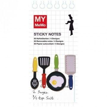 Sticky Notes Koch 120 Stück - Bastelmaterial kaufen im Makerist Materialshop
