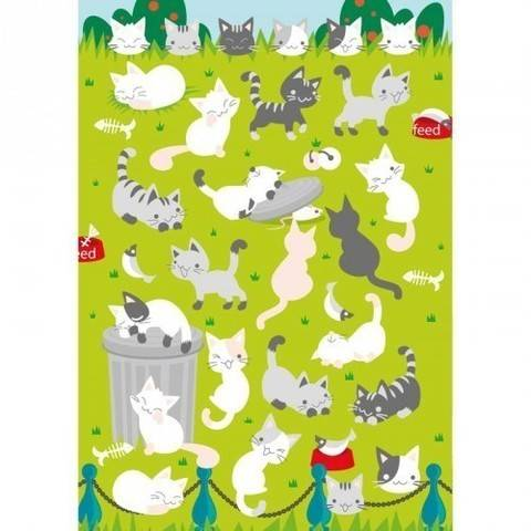 Filzsticker Katzen 10x19 cm kaufen im Makerist Materialshop