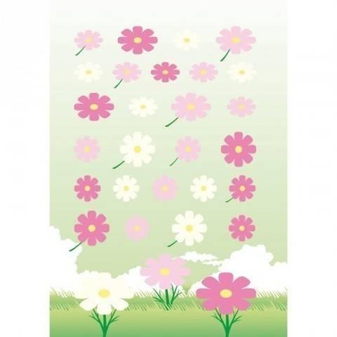 Filzsticker Blumen rosa/pink 10x19 cm kaufen im Makerist Materialshop
