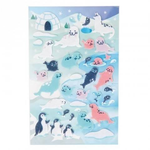 Filzsticker Robben/Pinguine 10x19 cm kaufen im Makerist Materialshop