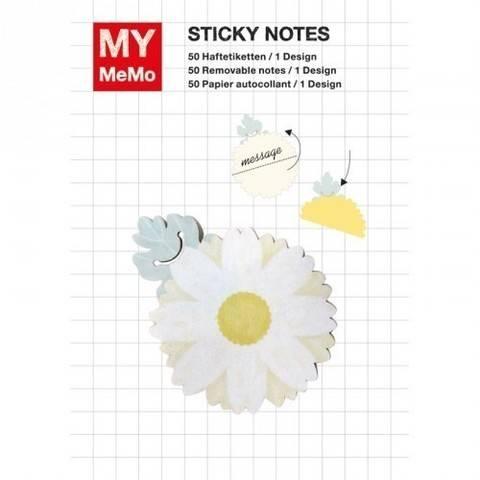 Sticky Notes Gänseblümchen 50 Stück kaufen im Makerist Materialshop