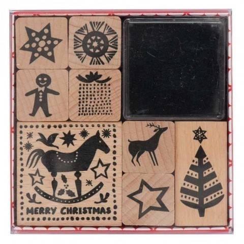 Stempelset Schaukelpferd 8 Stück kaufen im Makerist Materialshop