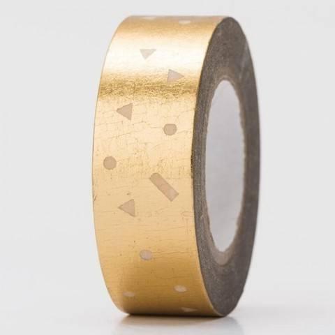 Tape Konfetti gold Hot Foil 15mm 10m kaufen im Makerist Materialshop