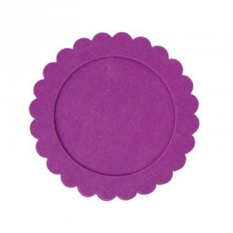 Filzrahmen rund lila 16cm kaufen im Makerist Materialshop