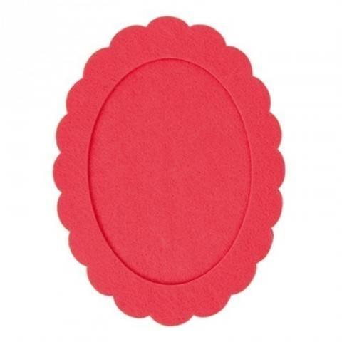 Filzrahmen oval azalee 15x20cm kaufen im Makerist Materialshop