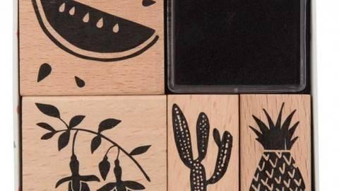 Stempelset Tropical Spring Melone 4 Stück kaufen im Makerist Materialshop