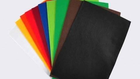 """Filzplatten-Set """"Basic"""" 20x30cm 10 Farben kaufen im Makerist Materialshop"""