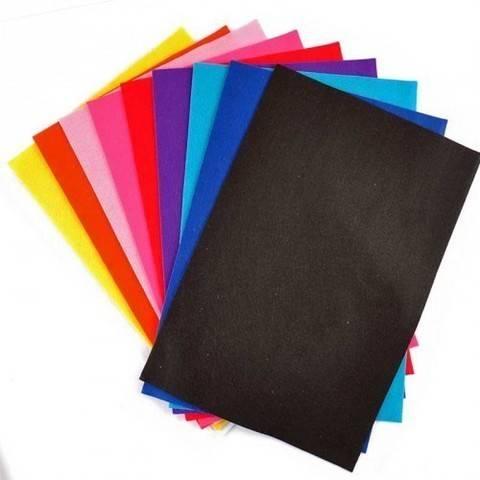 """Filzplatten-Set """"Fashion"""" 20x30cm 10 Farben kaufen im Makerist Materialshop"""