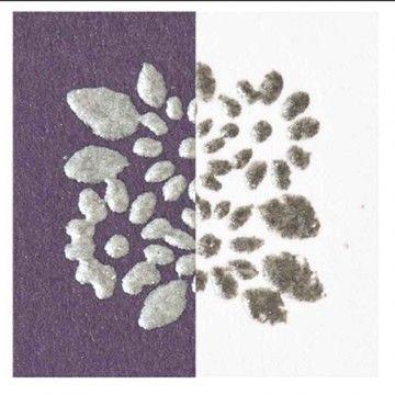 Embossingpuder silber matt 10g - Bastelmaterial kaufen im Makerist Materialshop