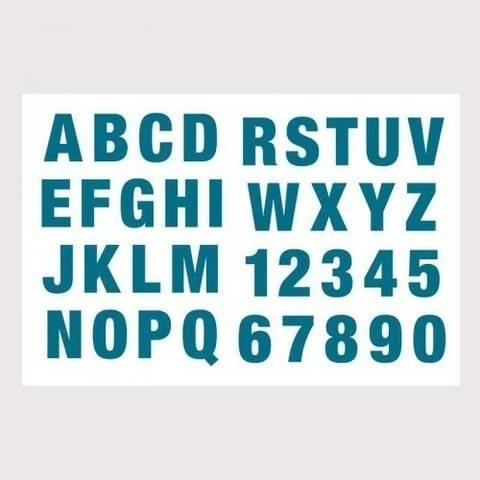 Silikonstempel Alphabet + Zahlen groß kaufen im Makerist Materialshop