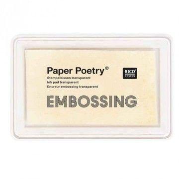 Embossing Stempelkissen transparent - Bastelmaterial kaufen im Makerist Materialshop