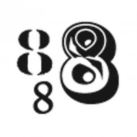 """Stempel """"8"""" 3,5x3,5cm kaufen im Makerist Materialshop"""