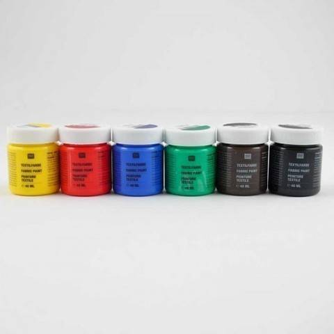 Textilfarben Basic 6x40ml kaufen im Makerist Materialshop