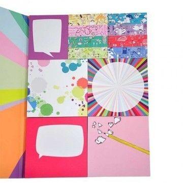 """Sticky Notes Buch """"idee"""" 13 Designs - Bastelmaterial kaufen im Makerist Materialshop"""