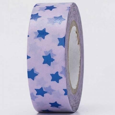 Tape Sterne blau Hot Foil 15mm 10m kaufen im Makerist Materialshop