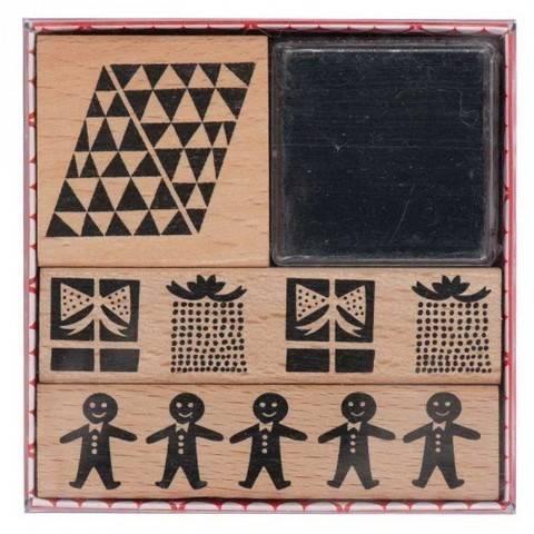 Stempelset X-Mas Bordüren 3 Stück kaufen im Makerist Materialshop