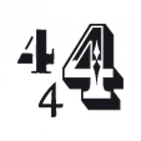"""Stempel """"4"""" 3,5x3,5cm kaufen im Makerist Materialshop"""