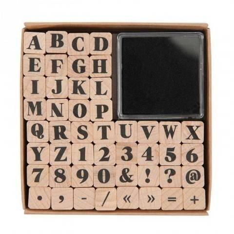 Stempelset ABC 2 48 Stück kaufen im Makerist Materialshop