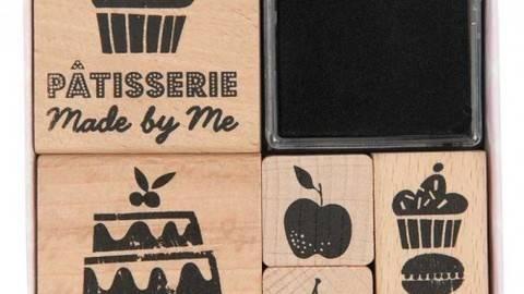 Stempelset Patisserie 5 Stück kaufen im Makerist Materialshop