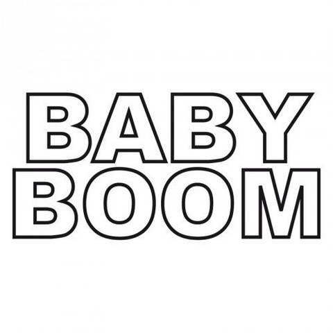 """Stempel """"Baby Boom"""" 4x9cm kaufen im Makerist Materialshop"""