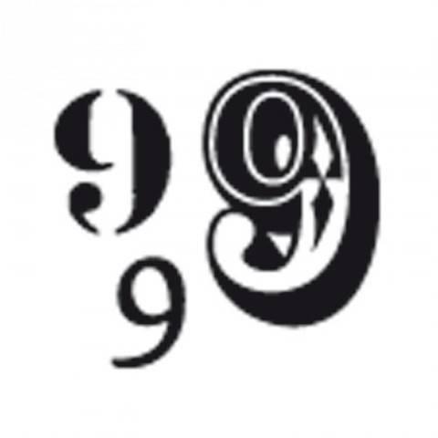 """Stempel """"9"""" 3,5x3,5cm kaufen im Makerist Materialshop"""