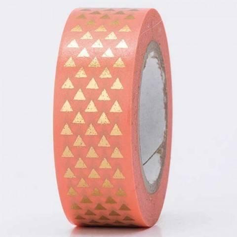 Tape Dreiecke gold Hot Foil 15mm 10m kaufen im Makerist Materialshop