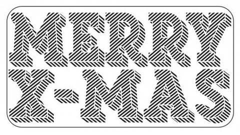 "Stempel ""Merry X-Mas"" 7,5x4cm kaufen im Makerist Materialshop"