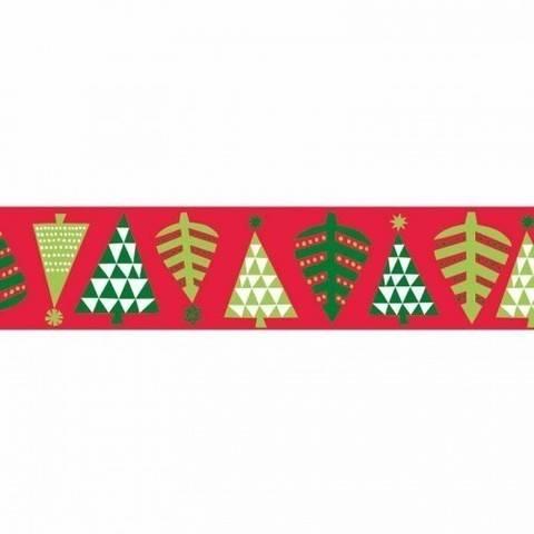 Tape Tannenbäume rot 15mm 10m kaufen im Makerist Materialshop