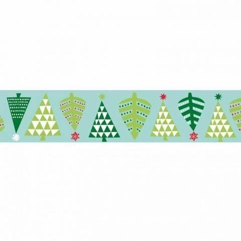Tape Tannenbäume mint 15mm 10m kaufen im Makerist Materialshop