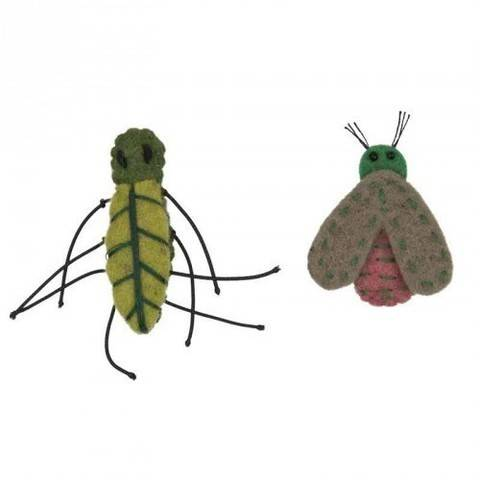 Filz-Insekten 2 Stück kaufen im Makerist Materialshop