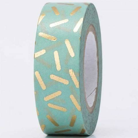 Tape Stracciatella gold Hot Foil 15mm 10m kaufen im Makerist Materialshop