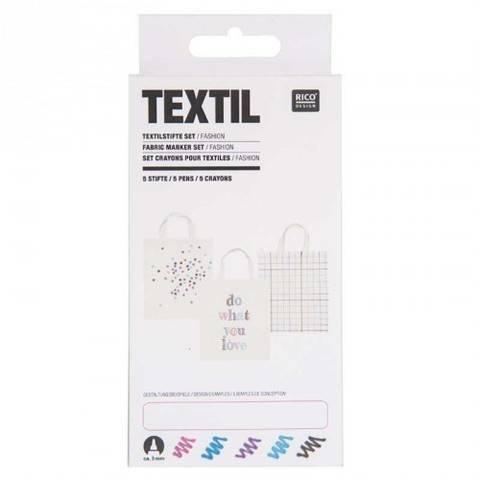 Textilstifte Fashion 5 Stück kaufen im Makerist Materialshop