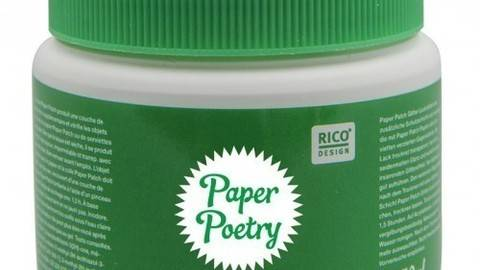 Paper Poetry Glitter Lack 150ml  - ARCHIVIERT - kaufen im Makerist Materialshop