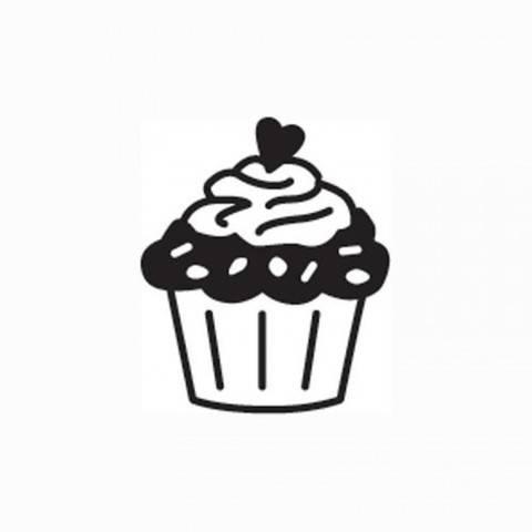 "Mini Stempel ""Cupcake"" Ø 1,5cm kaufen im Makerist Materialshop"