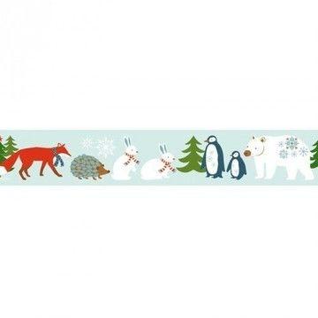 Tape Winterwald Tiere 15mm 10m - Bastelmaterial kaufen im Makerist Materialshop