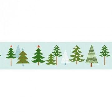 Tape Winterwald Tannen 15mm 10m - Bastelmaterial kaufen im Makerist Materialshop