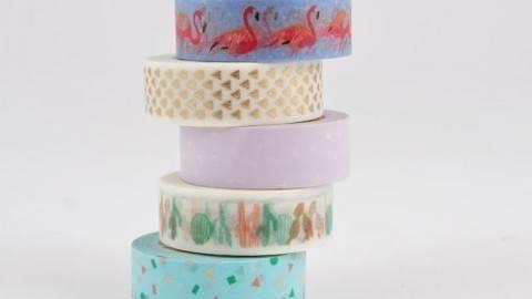 Tape Set Flamingo 5-teilig kaufen im Makerist Materialshop