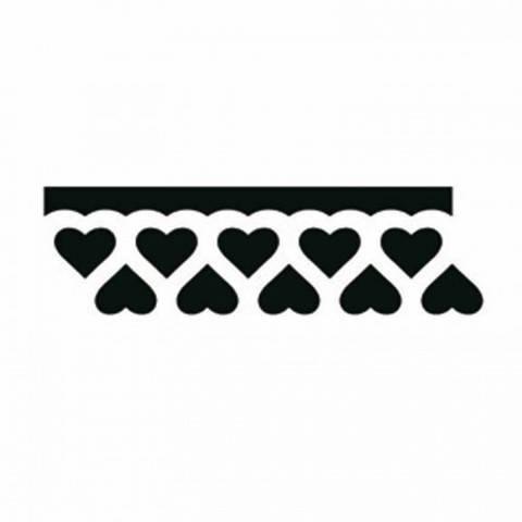 Bordürenstanzer klein Herzen 1,5x4cm kaufen im Makerist Materialshop