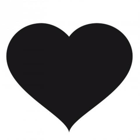 Stempel Herz klassisch rund 3,5cm kaufen im Makerist Materialshop