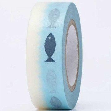Tape Fische 15mm 10m - Bastelmaterial kaufen im Makerist Materialshop